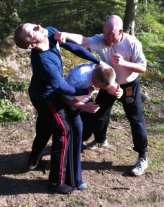 Krav Maga Training: Multiple Attackers