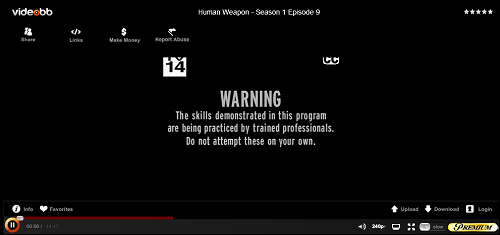 The Human Weapon Intro Post - click here to view the episode.